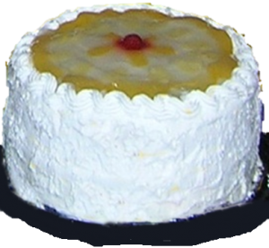 Pastel de durazno imagen