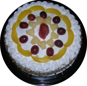 Pastel de tres leches con frutas