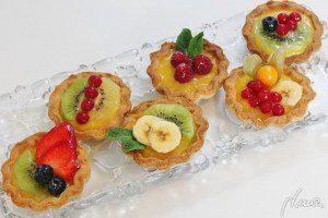 mini tartaletas de frutas decoradas