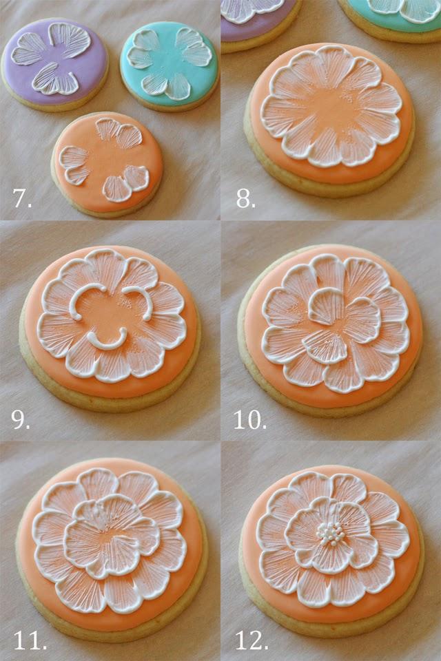 bordado en galletas