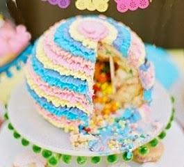 pastel piñata