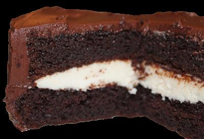 pastel de moca con relleno de crema