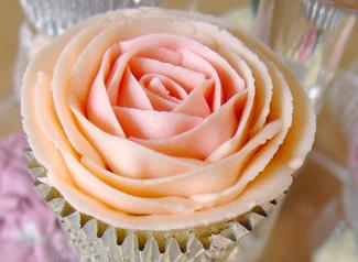 rosa hecha con duya 104