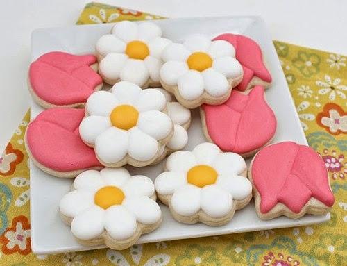 foto de galletas de flores