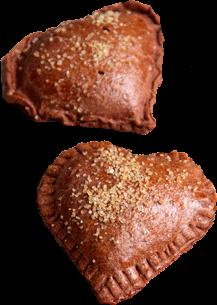 empanadas de chocolate