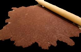 como se extiende masa de empanadas chocolate