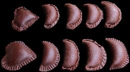 foto de figuras de empanadas