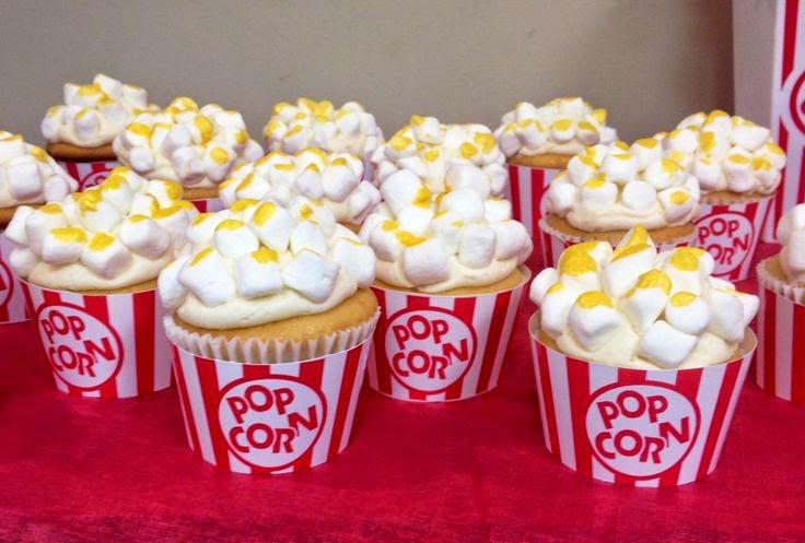 cupcakes tipo pop corn