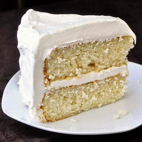 foto rebanada de pastel 3 leches limón