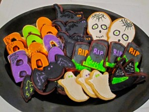 diferentes galletas para halloween