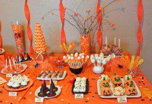 decoración panecilos para halloween