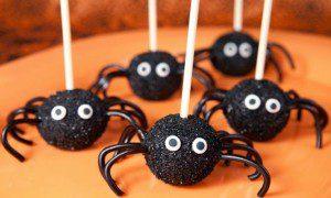 arañas popcakes