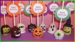 popcakes para dia de brujas